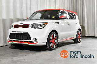 Used 2016 Kia Soul SX FWD * CLEAN CARFAX | ONE OWNER | LOW KMS | HEATED FRONT SEATS | BACKUP CAMERA | MORE!! for sale in Red Deer, AB