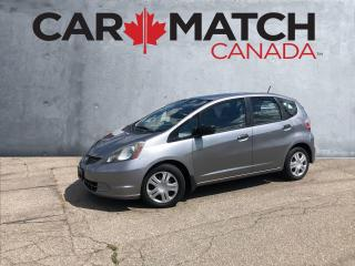 Used 2009 Honda Fit DX-A / AUTO / 135130 KM for sale in Cambridge, ON