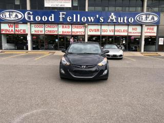 Used 2013 Hyundai Elantra GLS MODEL, 1.8 L 4CYL, FWD, SUNROOF, HEATED SEATS for sale in Toronto, ON