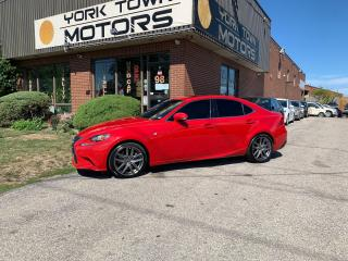 Used 2016 Lexus IS 300 F-Sport 3/AWD/Nav/SunRoof/H.Seats/OneOwner/NoAcc for sale in North York, ON
