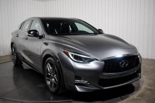 Used 2017 Infiniti QX30 S CUIR TOIT PANO NAV CAMERA 360 MAGS for sale in St-Hubert, QC