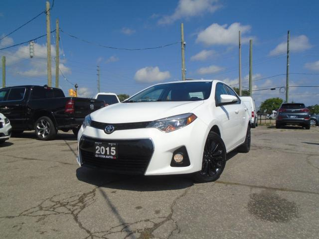 2015 Toyota Corolla S LEATHER LOW KM NO ACCIDENT B-TOOTH B-CAMERA