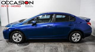 Used 2015 Honda Civic LX BLUETOOTH+CAM.RECUL+SIEGES.CHAUFFANTS for sale in Boisbriand, QC