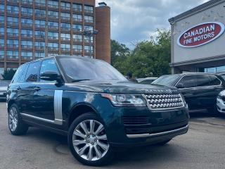 Used 2016 Land Rover Range Rover FULL SIZE | DIESEL | NAVI | CAM | PANO | P.D.C | for sale in Scarborough, ON