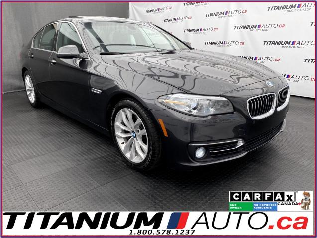 2016 BMW 5 Series xDrive+GPS+Camera+Front & Rear Park Sensors+LED