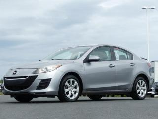 Used 2010 Mazda MAZDA3 GX AUTO AIR CLIM! for sale in St-Georges, QC