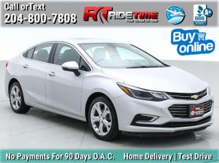 Used 2016 Chevrolet Cruze Premier for sale in Winnipeg, MB