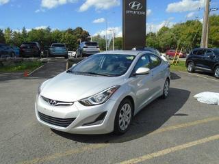 Used 2015 Hyundai Elantra GL for sale in Ottawa, ON