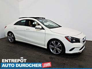 Used 2017 Mercedes-Benz CLA-Class CLA 250 AWD TOIT OUVRANT - A/C - Sièges Chauffants for sale in Laval, QC