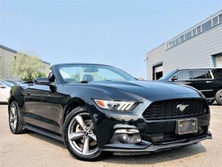 Used 2015 Ford Mustang ECO PREMIUM|CONVERTIBLE|VENTILATED MEMORY SEATS|NAVIGATION! for sale in Brampton, ON