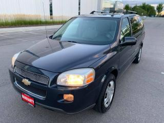 Used 2009 Chevrolet Uplander 4dr Ext WB for sale in Mississauga, ON