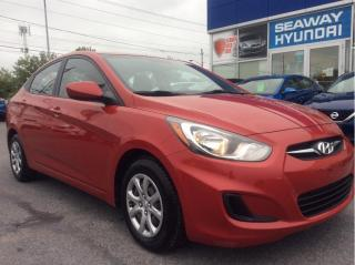 Used 2013 Hyundai Accent GL Auto - Air Conditioning - Local Trade for sale in Cornwall, ON