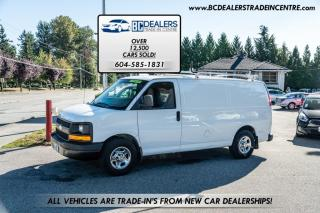 Used 2008 Chevrolet Express Cargo Van AWD 1500, No Declarations, Ladder Rack, Shelving + More! for sale in Surrey, BC