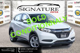 Used 2016 Honda HR-V 4WD 4dr CVT LX. ONE OWNER. CLEAN CARFAX. NEW BRAKES. for sale in Mississauga, ON
