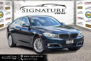 Used 2016 BMW 328xi Gran Turismo. NO ACCIDENT. ONE OWNER. for sale in Mississauga, ON