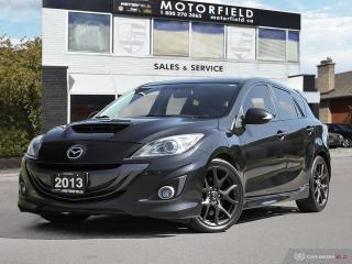 Used 2013 Mazda MAZDASPEED3 Mazdaspeed3 HB Technology *Navi, Bluetooth, Clean CarFAX* for sale in Scarborough, ON