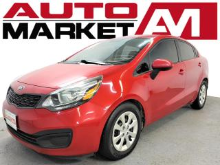 Used 2014 Kia Rio LX ACCIDENT FREE, BLUETOOTH, WE APPROVE ALL CREDIT!! for sale in Guelph, ON