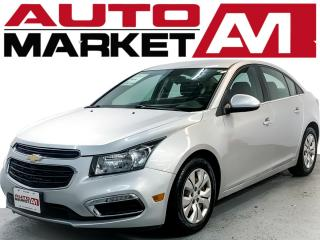 Used 2015 Chevrolet Cruze 1LT Auto BLUETOOTH, BACKUP CAMERA, WE APPROVE ALL CREDIT for sale in Guelph, ON