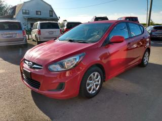 Used 2013 Hyundai Accent GS 5-Door for sale in Dunnville, ON