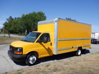 Used 2014 GMC Savana G3500 16.5 Foot Cube Van With Ramp for sale in Burnaby, BC