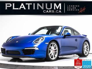 Used 2014 Porsche 911 Carrera S, 400HP, PDK, SPORT CHRONO, NAV, PASM for sale in Toronto, ON
