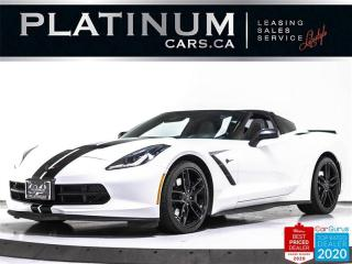 Used 2016 Chevrolet Corvette STINGRAY Z51 3LT, 455HP, NAV, CAM, HUD, VENTILATED for sale in Toronto, ON