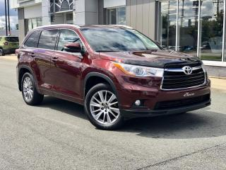 Used 2016 Toyota Highlander XLE AWD  CUIR TOIT OUVRANT for sale in Ste-Marie, QC