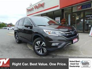 Used 2016 Honda CR-V Touring, Leather, Navigation for sale in Peterborough, ON