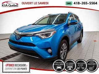 Used 2018 Toyota RAV4 Hybrid XLE* AWD* TOIT* CAMERA* SIEGES CHAUFFANT for sale in Québec, QC