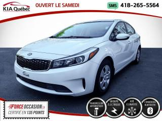 Used 2018 Kia Forte **LX** AT * A/C * BLUETOOTH * USB * for sale in Québec, QC