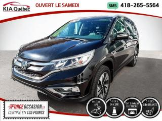 Used 2016 Honda CR-V TOURING* AWD* GPS* TOIT* CUIR* for sale in Québec, QC