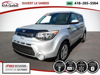 Used 2014 Kia Soul LX* AUTOMATIQUE* A/C* BLUETOOTH* for sale in Québec, QC