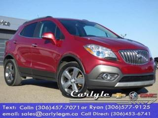 Used 2014 Buick Encore Leather for sale in Carlyle, SK