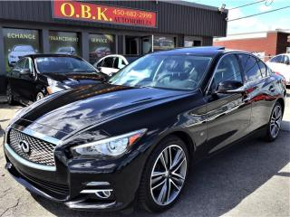 Used 2015 Infiniti Q50 LIMITED-AWD-NAVIGATION-TOIT OUVRANT-CAM RECUL- for sale in Laval, QC