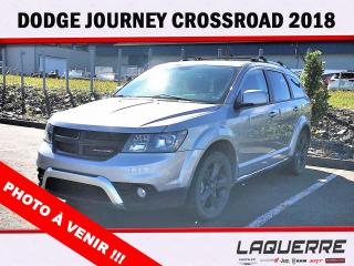 Used 2018 Dodge Journey Crossroad AWD for sale in Victoriaville, QC