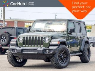 New 2021 Jeep Wrangler Unlimited Sport  4x4 Dual Top Backup Camera Bluetooth Blind Spot Advanced Safety Group 17