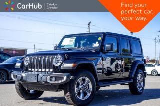 New 2021 Jeep Wrangler Unlimited New Sahara 4x4 Hard Top Navigation Bluetooth Remote Start Blind Spot Backup Camera 18