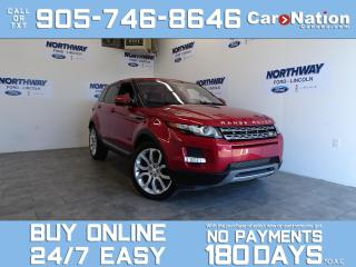 Used 2014 Land Rover Evoque PURE PLUS | LEATHER | 4X4 |SUNROOF | ONLY 60 KM for sale in Brantford, ON