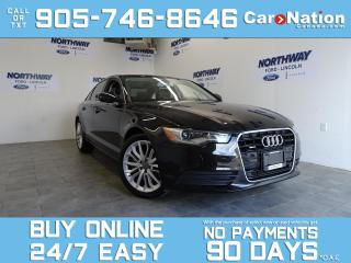 Used 2013 Audi A6 3.0T PREMIUM | QUATTRO | SUNROOF | NAV | ONLY 29KM for sale in Brantford, ON