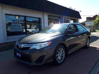 Used 2012 Toyota Camry LE for sale in Whitby, ON