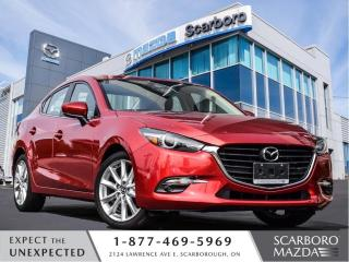 Used 2018 Mazda MAZDA3 1.5%@FINANCE|CPO|GT|MOONROOF|2.5L ENGINE|1 OWNER for sale in Scarborough, ON