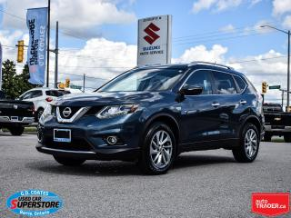 Used 2014 Nissan Rogue SL AWD ~Nav ~Camera ~Leather ~Panoramic Moonroof for sale in Barrie, ON