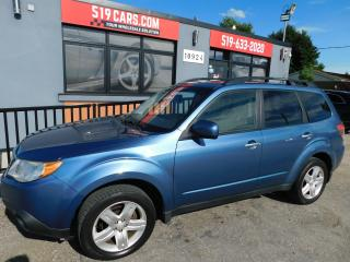 Used 2010 Subaru Forester X Limited | Leather | Heated Seats | Sunroof for sale in St. Thomas, ON
