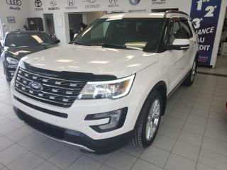 Used 2016 Ford Explorer LIMITED / AWD / TOIT PANORAMIQUE / GPS / for sale in Sherbrooke, QC