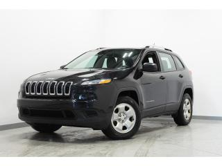 Used 2016 Jeep Cherokee 4WD Sport SIÈGES CHAUFFANTS VOLANT CHAUFFANTS for sale in Brossard, QC