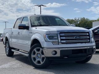 Used 2013 Ford F-150 Lariat LEATHER HEATED SEATS, REVERSE CAMERA for sale in Midland, ON