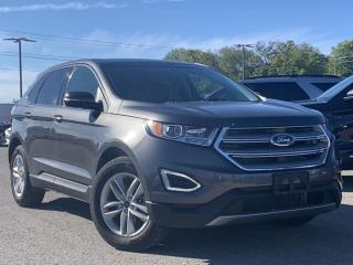 Used 2017 Ford Edge SEL LEATHER HEATED SEATS, NAVIGATION for sale in Midland, ON
