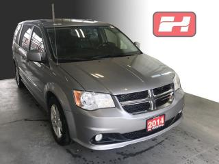 Used 2014 Dodge Grand Caravan Crew One Owner   Leather Seats   Rear Vision Camera for sale in Stratford, ON