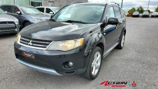 Used 2009 Mitsubishi Outlander 4WD XLS/CUIR/TOIT/7 PLACES/BLUETOOTH/MAGS 18 POUCE for sale in St-Hubert, QC