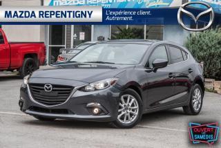 Used 2015 Mazda MAZDA3 GS SPORT TOIT OUVRANT AUTO 49.55$/SE for sale in Repentigny, QC